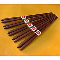 Bộ 5 đôi đũa ăn cao cấp đũa đẹp đũa sạch - Gỗ Cẩm