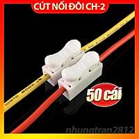 Combo 50 cút nối dây điện, kẹp nối dây đôi CH2 CH-2