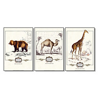 Bộ 3 Tấm Tranh Nghệ Thuật Phòng Bếp Q31D-6019 (40 x 60 cm)
