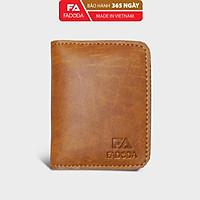 Ví sen gập đôi mini unisex FADODA FVN01 đựng thẻ và tiền