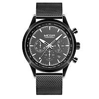 Đồng hồ MEGIR Quartz dành cho nam phong cách cổ điển doanh nhân chống thấm nước 3ATM