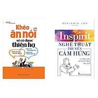Combo sách khéo ăn nói có được thiên hạ và nghệ thuật truyền cảm hứng tặng sổ tay vadata