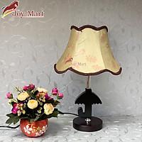 Đèn ngủ - đèn bàn trang trí - đèn gỗ để bàn MB8051
