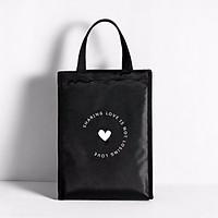 Túi đựng cơm giữ nhiệt nóng - lạnh cỡ đại Sharing Love