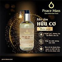 Sữa tắm Hữu cơ Thảo mộc Peace Mass 300ml