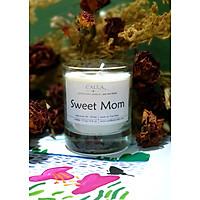 Nến thơm sáp đậu nành với tinh dầu hữu cơ tự nhiên - Sweet Mom, mùi hương tự chọn