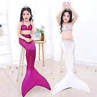 2pcs/set Girl Mermaid Swimsuit Mermaid Tail swimwear Mermaid Costume Bikinis Girls Swimming Suit