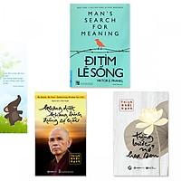 Combo 3 cuốn: Đi Tìm Lẽ Sống, Không Diệt Không Sinh Đừng Sợ Hãi, Từng Bước Nở Hoa Sen (Kèm bookmark danh ngôn hình voi)
