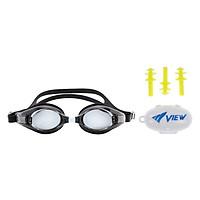 Bộ Kính Bơi Cận View V510 (Đen) Và Nút Bơi Nhét Tai EP405 - Hàng Chính Hãng
