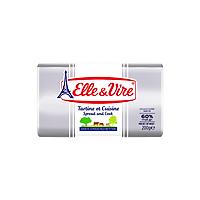 Bơ lạt Elle&Vire 200g 60% béo