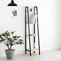 Kệ Sách Đa Năng Bằng Gỗ Lắp Ráp Thông Minh 4 Tầng Size S A Book Shelf 4FS Nội Thất Kiểu Hàn BEYOURs Đen Phối Gỗ