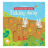 Usborne First Maths Slide and See Taking away in the garden