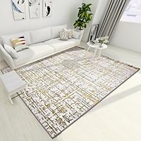 Thảm Trang Trí Phòng Khách Và Sofa Lông Ngắn LX016 - Luxury