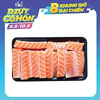 """[Chỉ Giao HCM] - Lườn Cá Hồi Nauy Cắt Lát """"Ngủ Đông"""" - Túi 300Gr - Foodmap"""