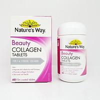 Viên uống đẹp da bổ sung collagen Nature's Way Collagen Booster chính hãng ÚC 60 viên