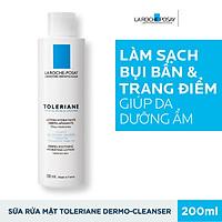 Sữa Rửa Mặt Tẩy Trang Cho Da Quá Nhạy Cảm Kích Ứng La Roche Posay Toleriane Dermo-Cleanser 200ml
