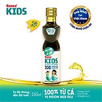 Dầu ăn dinh dưỡng cho bé 100% từ cá Ranee Kids 250 ml