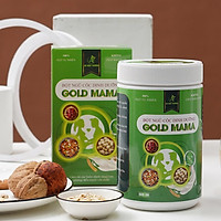 Bột ngũ cốc mẹ bầu, lợi sữa GOLD MAMA 24 loại hạt cao cấp (500 Gram), giảm nghén, chống táo bón
