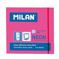 Bộ 2 Giấy Note Hồng 76 x 76 mm - 85432 (100 Tờ) - Milan