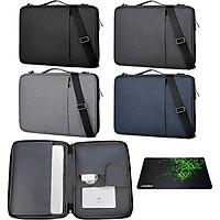Túi chống sốc cao cấp dành cho MacBook, laptop, Surface - Oz80 - tặng bàn di chuột