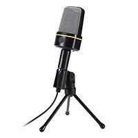 Microphone Thu Âm Cho Máy Tính Có Dây VINETTEAM  SF-920 Jack 3.5mm Tích Hợp  Gía Đỡ 3 Chân Để Bàn- 4176-Hàng Chính Hãng