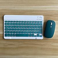 Bộ bàn phím kèm chuột KHÔNG DÂY nhiều màu - Bộ phím chuột nhỏ gọn - Dùng cho văn phòng - Dùng cho Ipad, Smart TV