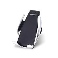 Giá đỡ kiêm Sạc nhanh 10W không dây Qi thông minhtrên xe hơi ô tôhiệu WIWU Penguin S5 hỗ trợ sạc nhanh cho điện thoại đạt chuẩn Qi, sạc thông minh, công nghệ Gravity đóng mở tự động - Hàng nhập khẩu