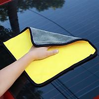 Khăn lau chùi thấm nước cho xe hơi đa năng 38x45cm (tặng kèm 1 sản phẩm ngẫu nhiên)
