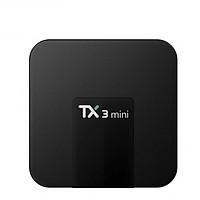 Android Tivi Box TX3 Mini Phiên Bản 2GB Ram Và 16GB Bộ Nhớ Trong, Hệ Điều Hành Android TV, Tìm Kiếm Giọng Nói - Hàng Nhập Khẩu