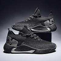 Giày thể thao nam buộc dây sneaker nam mẫu mới vải dệt cao cấp G179