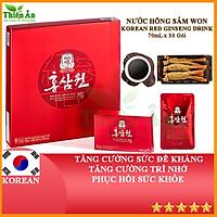 Nước Hồng Sâm Won KGC Cheong Kwan Jang 30 Gói 70ml