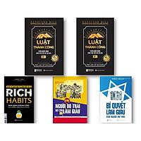 Bộ Sách 5 Cuốn Tư Duy Khác Biệt Để Trở Nên Thành Công ( Luật Thành Công: Chìa Khóa Vàng Đánh Thức Ước Mơ Của Bạn (Tập 1) , Luật Thành Công: Chìa Khóa Vàng Đánh Thức Ước Mơ Của Bạn (Tập 2) , 101 Bí Quyết Làm Giàu Của Người Do Thái , Bí mật người Do Thái dạy con làm giàu – cách dạy con khác biệt của một dân tộc thông minh , Rich Habits – Thói quen thành công của những triệu phú tự thân kt)