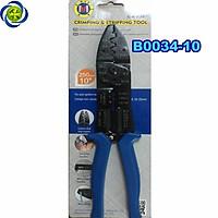 Kềm cắt tuốt bấm cos dây điện C-Mart B0034-10