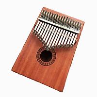 Đàn Kalimba 17 phím Gỗ Tròn Bông Tặng Kèm Khóa Học Miễn Phí