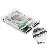 "USB 3.1 2.5 HDD Case Type-C to SATA Hard Drive Box for 2.5"" Hard Drive"