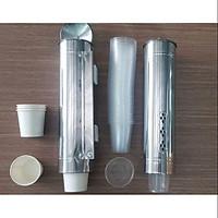 Hộp/ống inox dùng rút ly giấy ly nhựa