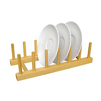 Giá Đựng/ Để Dĩa 7 thanh Gỗ Đức Thành - Đĩa được để gọn gàng sạch sẽ tiện lợi