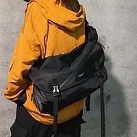 Túi đeo chéo nam nữ chống thấm nước đi học đi chơi đựng vừa laptop 15.6 ich