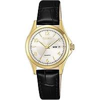 Đồng hồ CITIZEN đeo tay thời trang nữ kinh điển 3 kim/ EQ0593-26A
