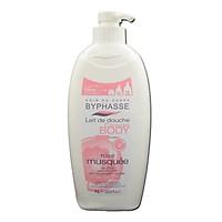 Sữa tắm dưỡng da hương hoa Tầm Xuân Byphasse 1L màu hồng
