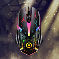 Gaming Mouse Wired PC Gaming Mice 7 Colors Lights for Computer PC Tablet Notebook Universal Comfortable 3 Buttons