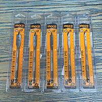 Bộ 5 Mũi khoan gỗ đầu dẹp 6,8,10,12,14mm Ingco