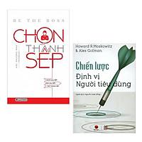 Combo 2 Cuốn Sách Kỹ Năng Làm Việc: Chọn Thành Sếp + Chiến Lược Định Vị Người Tiêu Dùng / Nững Cuốn Sách Kinh Tế Hay Nhất - Tặng Kèm Bookmark Happy Life