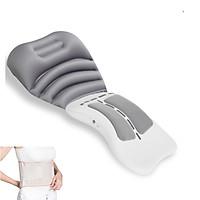 Máy Massage Vùng Lưng, Cột Sống - Thế Hệ Mới Có Túi Đệm Khí Tựa Cổ - Loại Không Dây Nhỏ Gọn - Hàng Loại Tốt, Bền, Đẹp - Dung Lượng Pin Lớn - Tặng Đai Lưng Loại Bền Đẹp