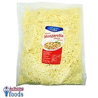 [Chỉ giao TP.HCM] Phô mai Mozzarella Ba Lan-Polmlek bào sợi | 2Kg