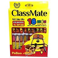 Bút sáp dầu 18 màu CL-OP102-2OP0002