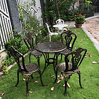 Bộ bàn ghế sân vườn nhôm đúc Vườn An Nam BG-002N