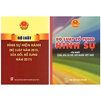Combo Bộ Luật Tố Tụng Hình Sự Của Nước Cộng Hòa Xã Hội Chủ Nghĩa Việt Nam + Bộ Luật Hình Sự Hiện Hành (2 Cuốn)