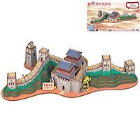 Đồ chơi lắp ghép gỗ 3D Mô hình Vạn lý Trường thành The Great Wall HF08 Laser