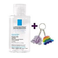 Nước Tẩy Trang Làm Sạch Sâu Cho Da Nhạy Cảm La Roche-Posay Micellar Water Ultra Sensitive Skin 100ml + Tặng Móc Khóa